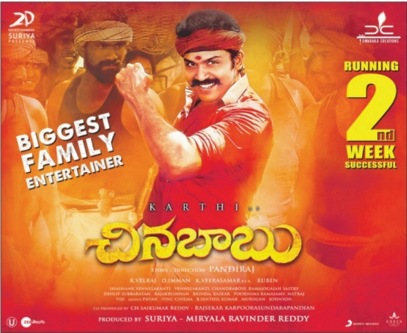 Chinna Babu Movie Running Successfully On 2nd Week