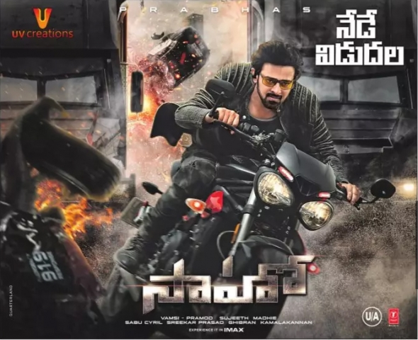Saaho Movie Releasing Today