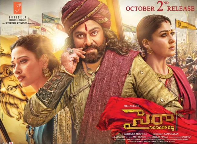 Sye Raa Narasimha Reddy Movie Release On October 2nd