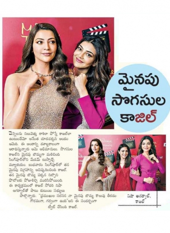 Kajal Aggarwal Wax Statue At Madame Tussauds Unveiled In Singapore She Became First South Indian Actress To Do So