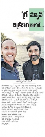 Dhanush Starts Shooting For Russo Brothers The Gray Man In California
