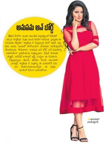 Anupama Parameswaran Is The Lead Actress Of This Nikhil Starrer Karthikeya 2
