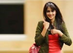 Cherry & Genelia in Orange