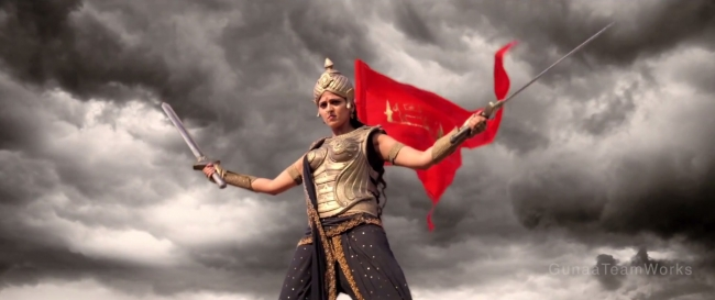 Rudramadevi Movie Working Stills   Posters   Wallpapers