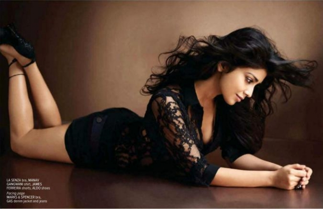 Shriyas hot poses for Maxim