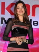 Tamannah at Celkon showroom
