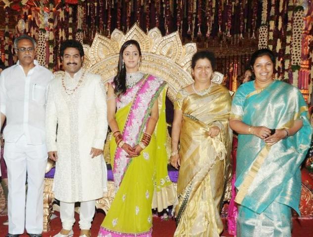 Junior NTR wedding photos