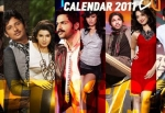 South Indian Stars Calender - 2011