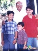 Naga Chaitanya with Grand father