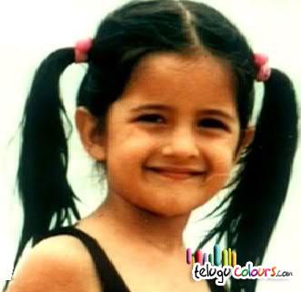 Katrina Kaif Childhood
