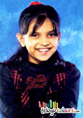 Deepika Padukoni Childhood